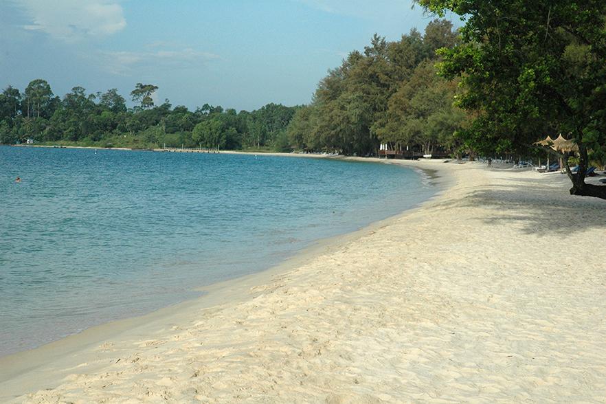 柬埔寨度假勝地 西哈努克海灘