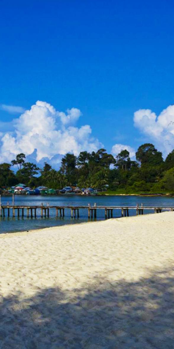柬埔寨旅遊紀錄 西哈努克海灘